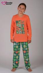 Detské pyžamo dlhé Vienetta Secret Králiky