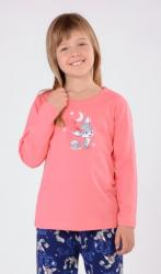 Detské pyžamo dlhé Vienetta Secret Liška a mesiac
