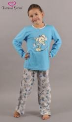 Detské pyžamo dlhé Vienetta Secret Myš a srdce