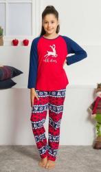 Detské pyžamo dlhé Vienetta Secret Ohh deer