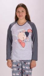 Detské pyžamo dlhé Vienetta Secret Ovce Happy