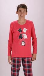 Detské pyžamo dlhé Vienetta Secret Panda
