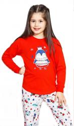 Detské pyžamo dlhé Vienetta Secret Tučniak malý