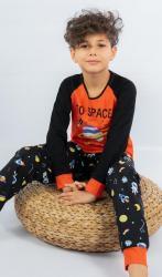 Dětské pyžamo dlhé Vienetta Secret Vesmír