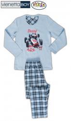 Detské pyžamo dlhé Vienetta Secret Závodné auto