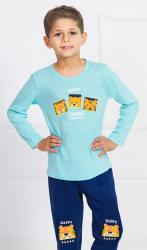 Detské pyžamo dlouhé Vienetta Secret Kamarádi
