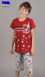 Detské pyžamo kapri Futbal