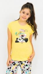 Detské pyžamo kapri Vienetta Secret Panda a muffin