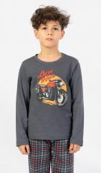 Detské pyžamo Vienetta Secret Motorka