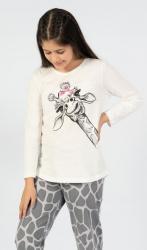 Dětské pyžamo Vienetta Secret Velká žirafa