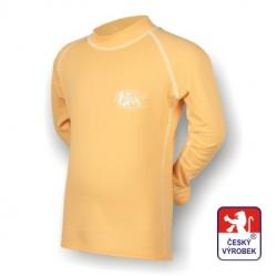 Detsk� spodky + tri�ko Suspect Animal dlh� ruk�v b�ov� / biela Silvertech