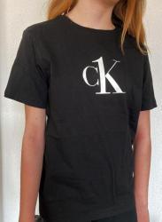 Detské triko Calvin Klein B700327 černé
