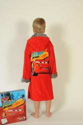 Detský chlapčenský župan Cars - autíčka
