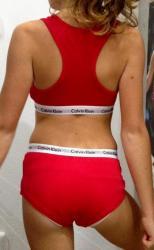 Dievčenská podprsenka Calvin Klein G897000-Brazílčanka