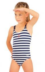 Dievčenské jednodielne plavky Litex 57537