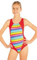 Dievčenské jednodielne športové plavky Litex 52612