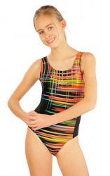 Dievčenské jednodielne športové plavky Litex 52625