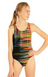 Dievčenské jednodielne športové plavky Litex 52626