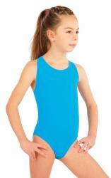 Dievčenské jednodielne športové plavky Litex 57592