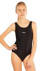 Dievčenské jednodielne športové plavky Litex 57593