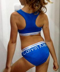 Dievčenské nohavičky Calvin Klein G895000
