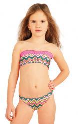 Dievčenské plavkové nohavičky bokové Litex 52573