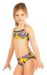 Dievčenské plavkové nohavičky bokové Litex 52614