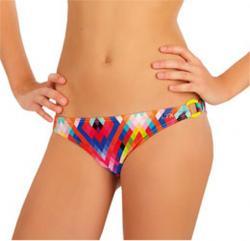 Dievčenské plavkové nohavičky bokové Litex 57568