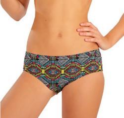 Dievčenské plavkové nohavičky bokové Litex 57572