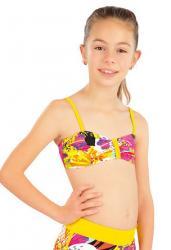 Dievčenské plavkový top Litex 57550