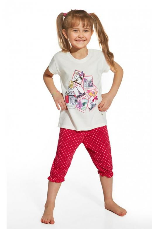 bfab0f9c48c7 Dievčenské pyžamo Cornette 586 42 Holiday - Cornette (Detské pyžamá ...