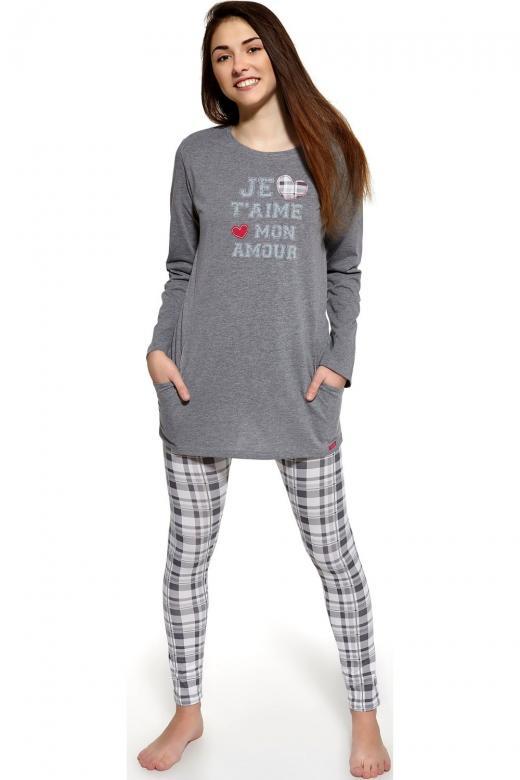 0cd350d7f0b6 Dievčenské pyžamo Cornette 968 21 melange - Cornette (Detské pyžamá ...