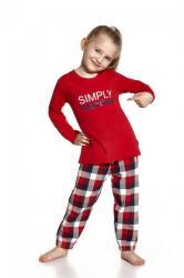 Dievčenské pyžamo Cornette 972/46 Simply together
