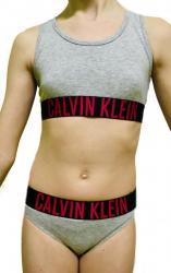 Dievčenské set Calvin Klein 800143 + 800153 sivý
