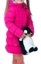 Dievčenský zateplený kabát O'STYLE 8236