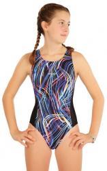 Dívčí jednodílne plavky športové Litex 63632
