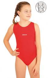 Dívčí jednodílne športové plavky Litex 63640