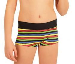 Dívčí plavky kalhotky s nohavičkou Litex 63602