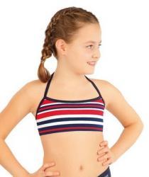 Dívčí plavky športové top Litex 63607