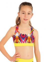 Dívčí plavky športové top Litex 63620