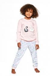 Dívčí pyžamo Cornette 387/143 Labuť 2