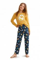 Dívčí pyžamo Taro 2647 Sarah žluté