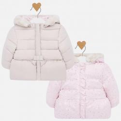 Dívčí zimní, oboustranná bunda Mayoral 2410