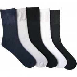 Froté zimné ponožky Novia - jemný sver lemu - 2 páry