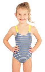 Jednodielne dievčenské plavky Litex 57542