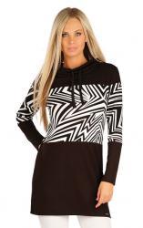 Mikinové šaty s dlhým rukávem Litex 60376