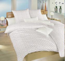 Posteľná bielizeň bavlna Dadka Ružičky červené-140x200 + 70x90