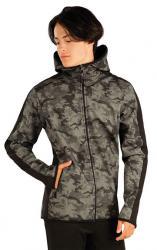 Pánska bunda softshellová s kapucňou Litex 60282