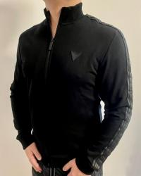 Pánska mikina Guess U1GA12 černá