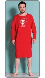 Pánska nočná košeľa s dlhým rukávom Vienetta Secret Sleepwalker